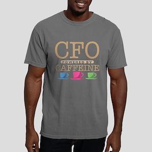 CFO Powered by Caffeine Mens Comfort Colors Shirt