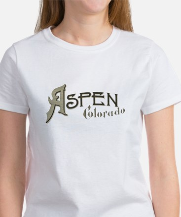 Aspen Colorado Women's T-Shirt