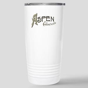 Aspen Colorado Stainless Steel Travel Mug
