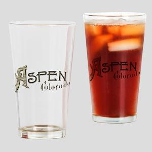 Aspen Colorado Drinking Glass