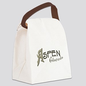 Aspen Colorado Canvas Lunch Bag