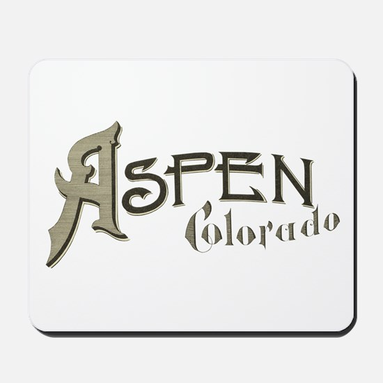 Aspen Colorado Mousepad
