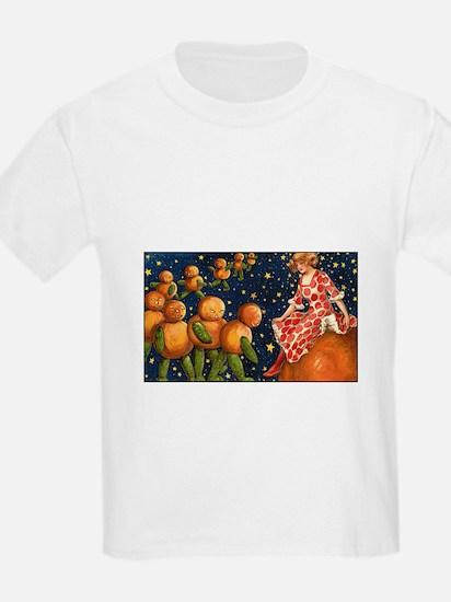 Cosmic Pumpkins Kids T-Shirt