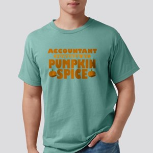 Accountant Powered by Pumpkin Spice Mens Comfort C