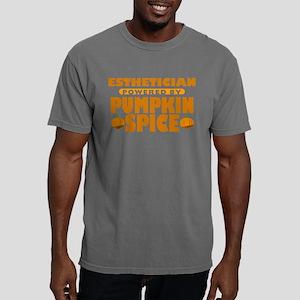 Esthetician Powered by Pumpkin Spice Mens Comfort