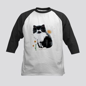 Kitten and Daisy Baseball Jersey