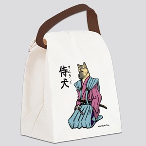 Samurai_shirt Canvas Lunch Bag