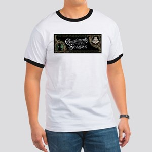 Phantom of the Opera Christmas Greeting T-Shirt