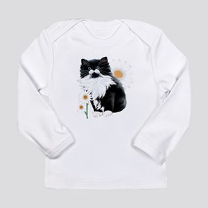 Kitten and Daisy Long Sleeve T-Shirt