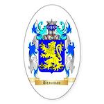 Beauman Sticker (Oval 50 pk)