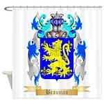 Beauman Shower Curtain