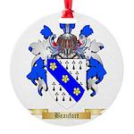 Beaufort Round Ornament