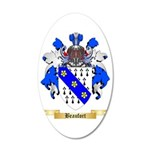 Beaufort 35x21 Oval Wall Decal