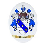 Beaufort Ornament (Oval)