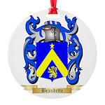 Beaudette Round Ornament