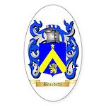 Beaudette Sticker (Oval 50 pk)