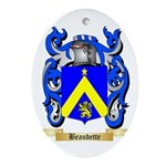 Beaudette Ornament (Oval)
