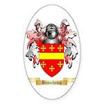 Beauchamp Sticker (Oval 50 pk)