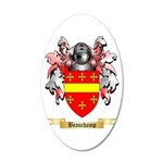Beauchamp 20x12 Oval Wall Decal
