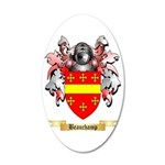 Beauchamp 35x21 Oval Wall Decal