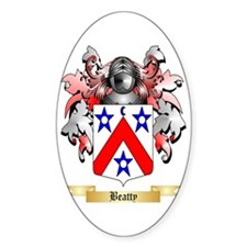 Beatty Sticker (Oval)