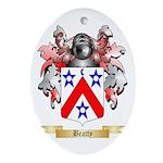 Beatty Ornament (Oval)