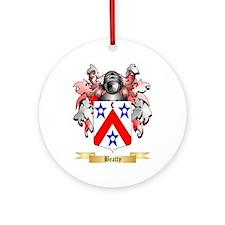 Beatty Ornament (Round)