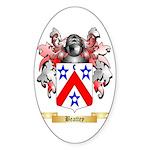 Beattey Sticker (Oval 10 pk)
