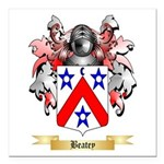 Beatey Square Car Magnet 3