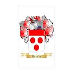 Beasley Sticker (Rectangle 50 pk)