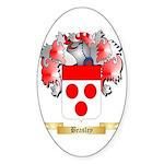 Beasley Sticker (Oval 50 pk)