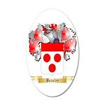 Beasley 35x21 Oval Wall Decal