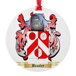Beasley 2 Round Ornament