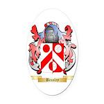 Beasley 2 Oval Car Magnet