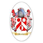 Beasley 2 Sticker (Oval 50 pk)