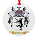 Beare Round Ornament