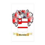 Beardsley Sticker (Rectangle 50 pk)