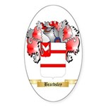Beardsley Sticker (Oval 50 pk)