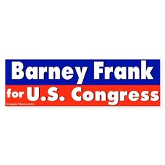 Re-elect Barney Frank Bumper Bumper Sticker