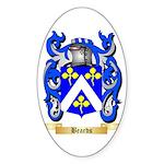 Beards Sticker (Oval 50 pk)
