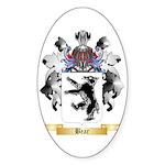 Bear Sticker (Oval 10 pk)