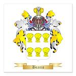 Beams Square Car Magnet 3