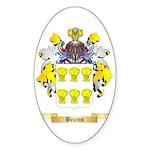 Beams Sticker (Oval 50 pk)