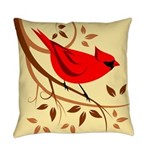 Bird Lover Pillows Everyday Pillow