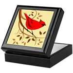 Northern Red Cardinal Keepsake Box