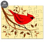 Northern Male Cardinal Puzzle