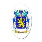 Beamont 20x12 Oval Wall Decal