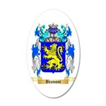 Beamont 35x21 Oval Wall Decal