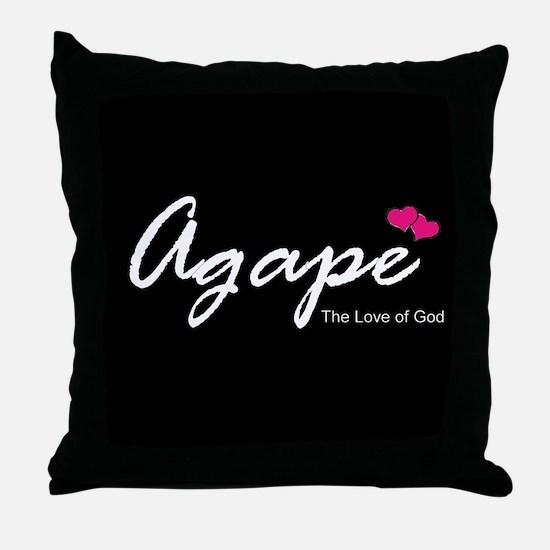 Agape Love Throw Pillow