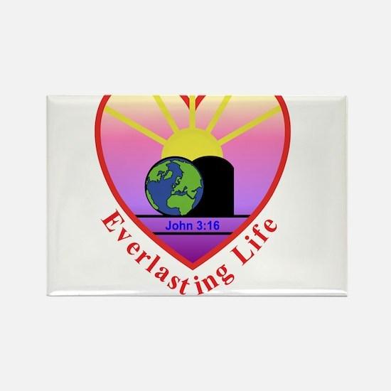Everlasting Life Rectangle Magnet